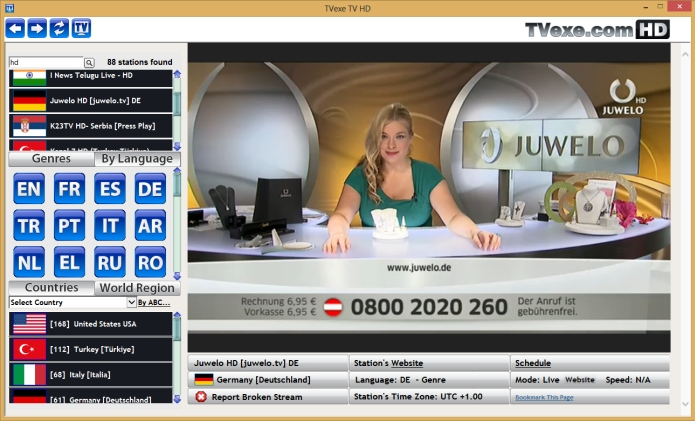 watch 1400 live tv channels on your pc free software 2017