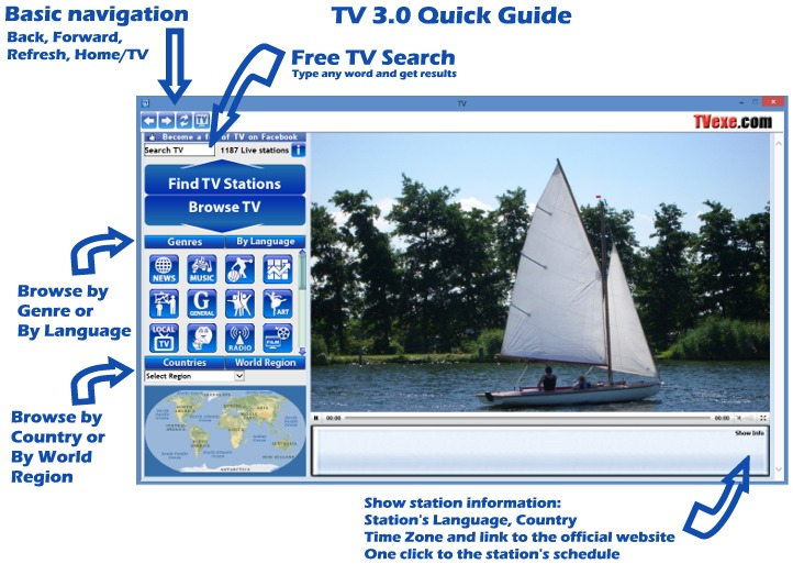 TV 3 Quick Guide