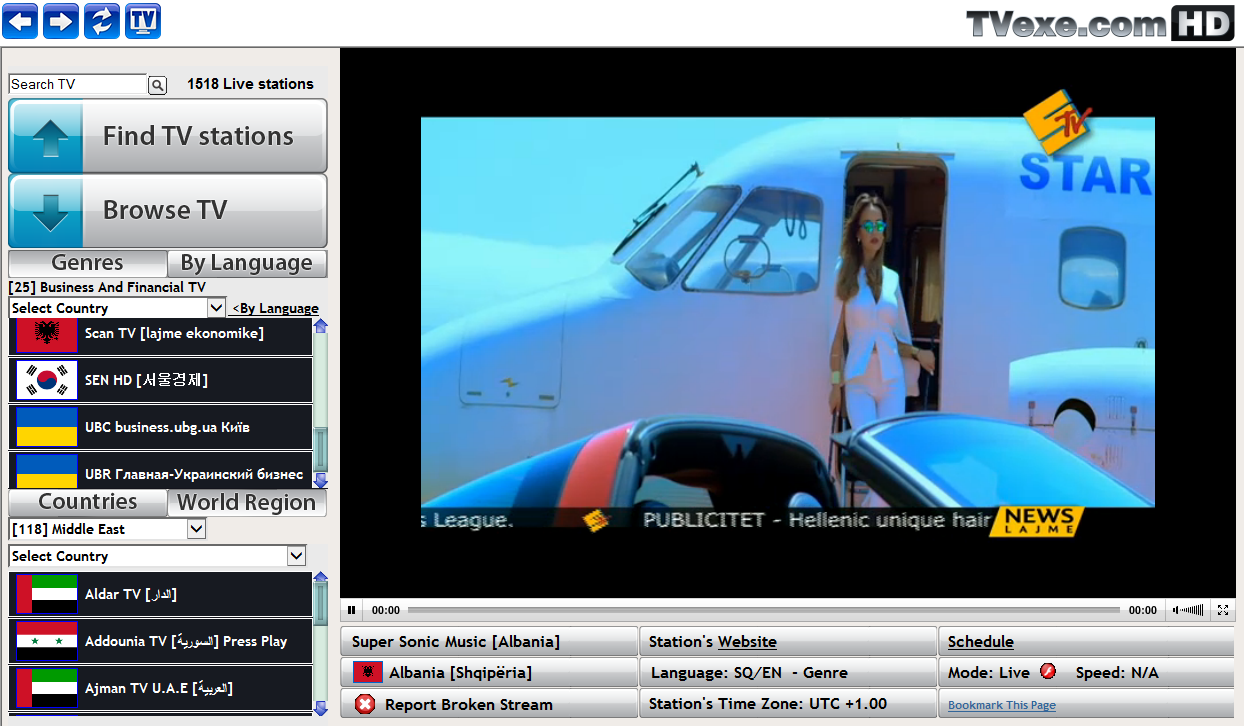 Watch 800 Live Tv Channels On Your Pc Free Software From